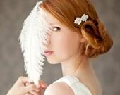 Precious - Swarovski crystal hair clip - Made to Order