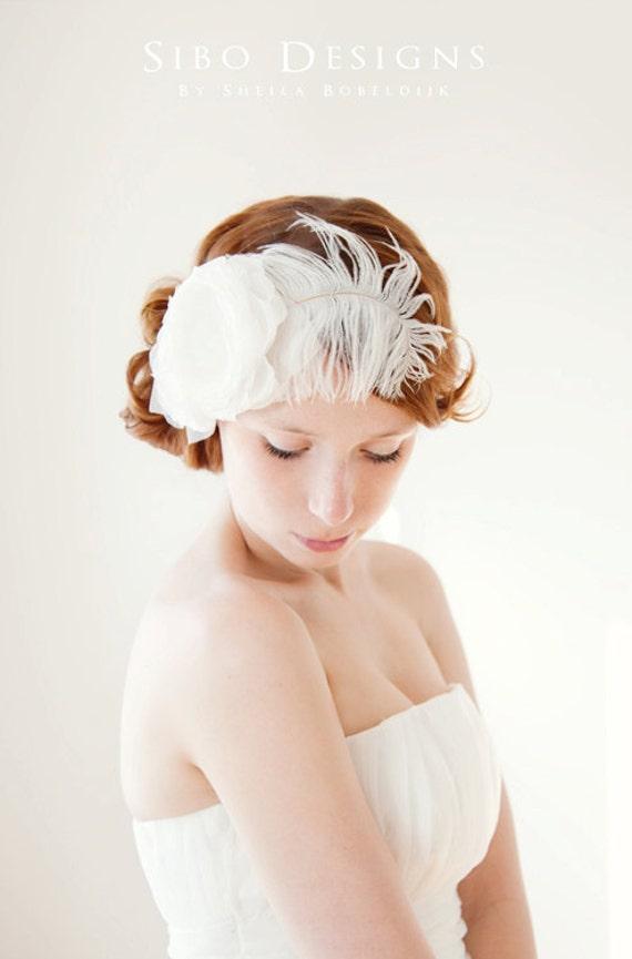 My Sunshine - Ivory Bridal Hair piece