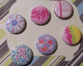Custom Tampa Bay Breast Cancer 3-Day 1 inch pinback pins - RESERVED FOR TSUTTER