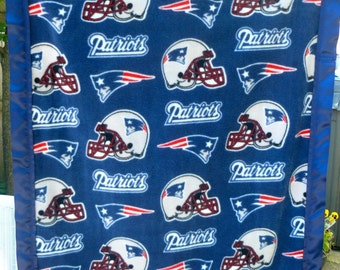 Cuddle Me Blanket New England Patriots Football