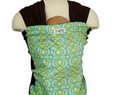 Baby Carrier Stretchy Wrap Baby Sling - Stained Glass - Instructional DVD Included - FAST SHIPPING