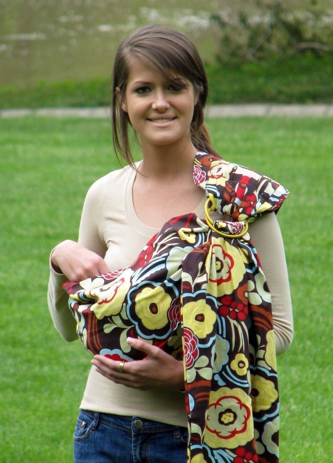 how to make a baby ring sling