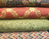 Fall Fabric Fat Quarter Bundle Fabric Traditions by Dona Wilder by SEW FUN QUILTS