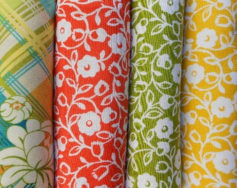 Meadow Sweet Fabric Fat Quarter Bundle - Michael Miller by Sandi Henderson
