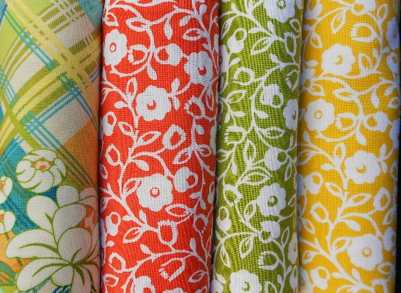 Meadow Sweet Fat Quarter Bundle  - Michael Miller Fabrics  - SEW FUN QUILTS Time Saver Quilt Kit
