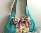 SMALLER VERSION--Marie Handbag----Ready---