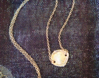Rose Gold Handmade Coin Necklace