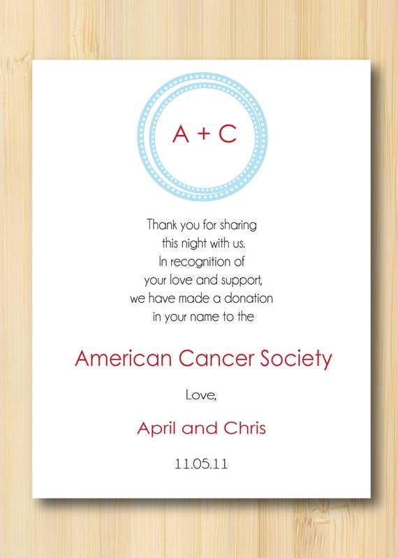 Wedding Gift Donation To Charity Wording : favorite favorited like this item add it to your favorites to revisit ...