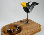 FOR SANDRA ONLY Bird on Coin/Jewelry Dish