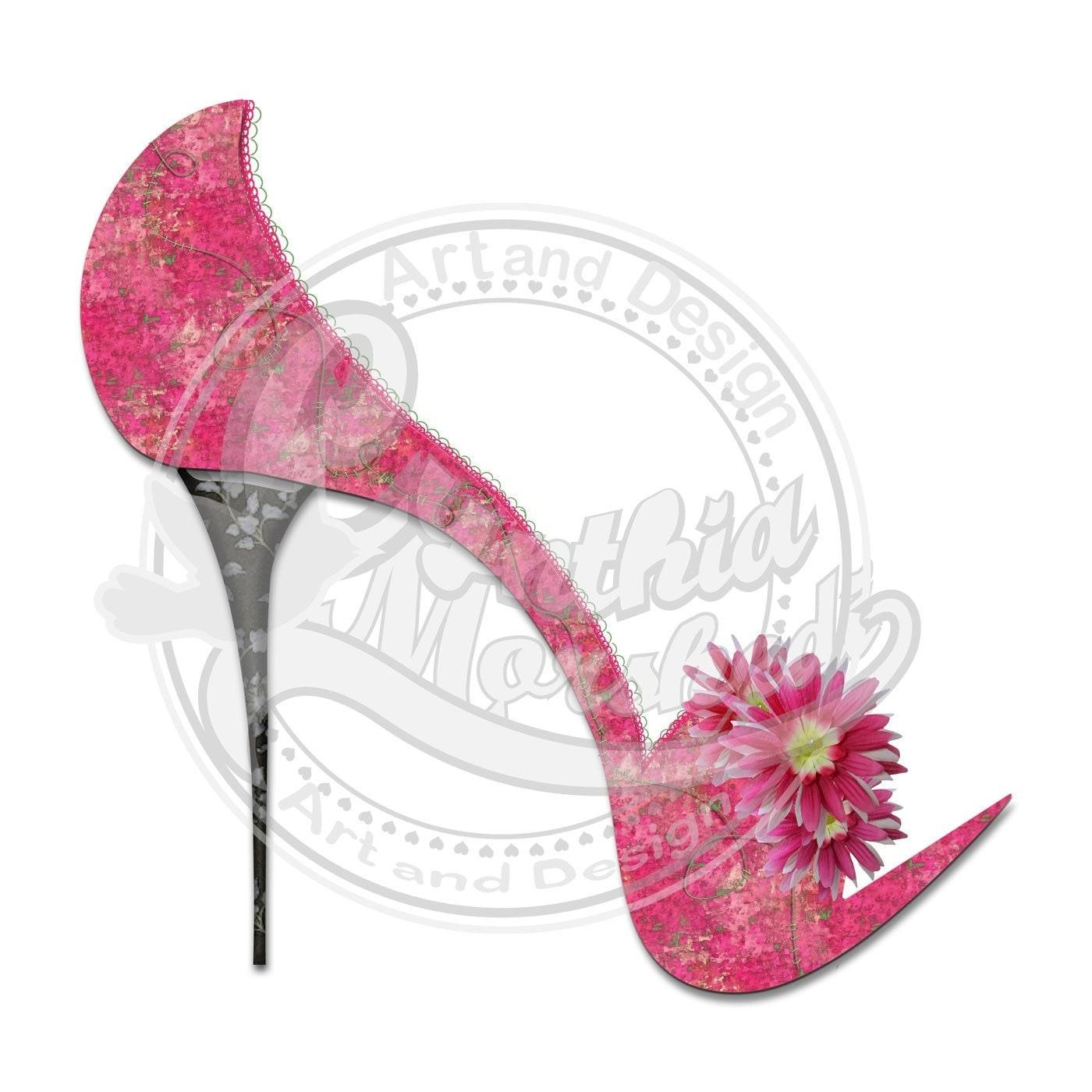 Unique Pink Heels