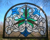Victorian style Stained glass window Cling