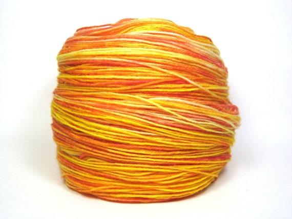 SUMMER SPLASH Handdyed Sock Yarn - 464 yards fingering weight
