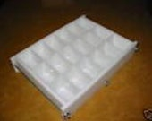No Liner 18 bar 5 lb slab tray Soap Mold lye & glycerin, cold or hot process. Wooden Wood Lids AVAIL. E