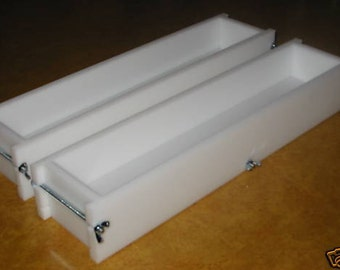 Soap mold two 5-6 lb no liner soap molds wooden lids & cutters avail. E