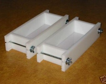 Soap mold two 2 to  3 Lb No Liner Soap Molds Wooden Lids & Cutters Avail. E