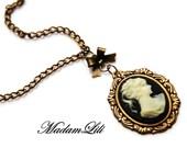 Lady Cameo Vintage Necklace