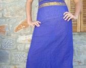 PASSION PURPLE Maxi Dress