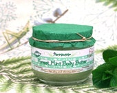 Forest Mint Body Butter Organic Vegan Natural with Shea butter. SALE