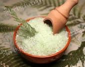 Green Forest Detox Bath Soak with Dead Sea Salt 22 oz Aromatic soothing eco-friendly