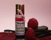 Organic Raspberry Chocolate Perfume Oil - Botanical Vegan fragrance with Natural aroma - Raspbelissimo