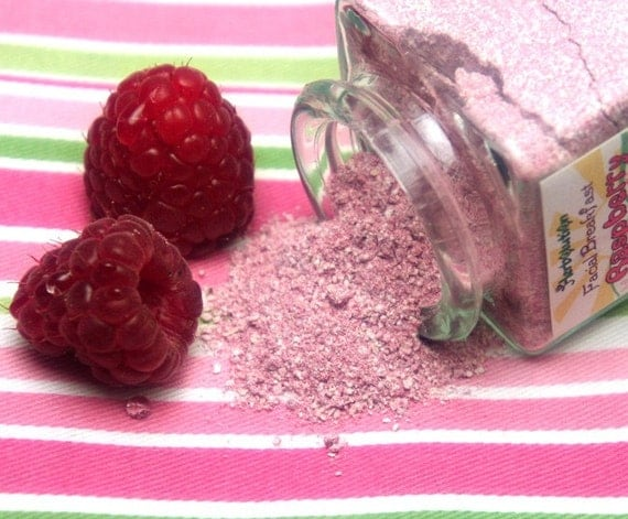 Organic Raspberry Face Scrub Natural and eco-friendly facial breakfast no soap vegan cleanser