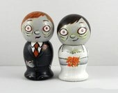 Zombie Cake Toppers - Hungry For Love