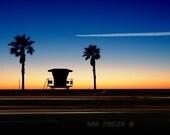 California Sunset. Fine Art Photography.