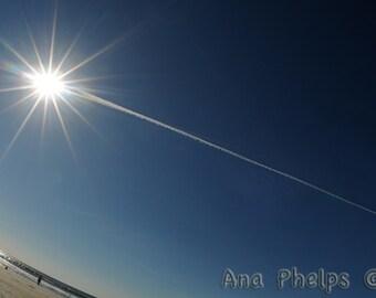 Comet Sun. Fine Art Photography.