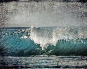 Blue Wave. Fine Art Photography. 16x20