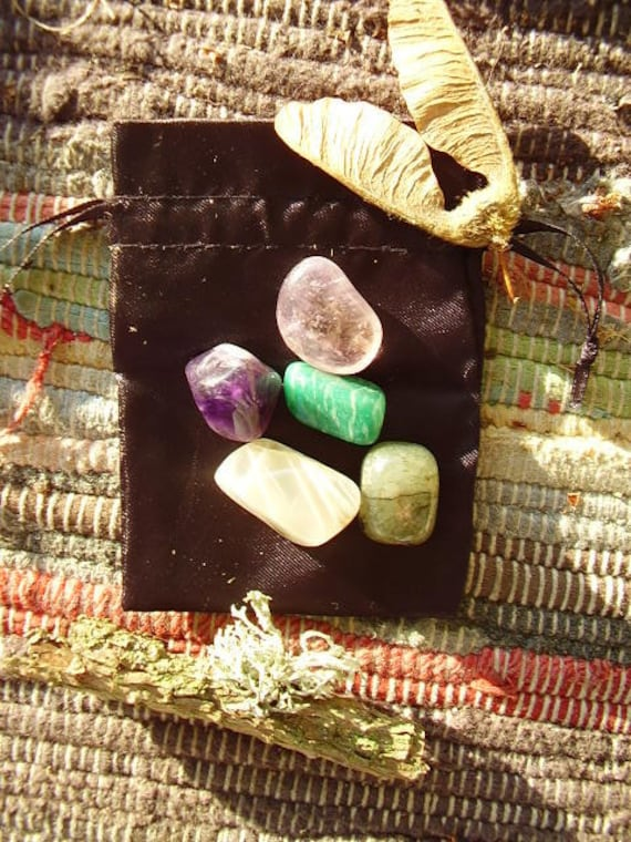 Intuition Healing Crystals with Pouch