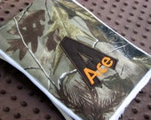 Hunting Camo burp cloths - Real tree camo burp cloths - personalized