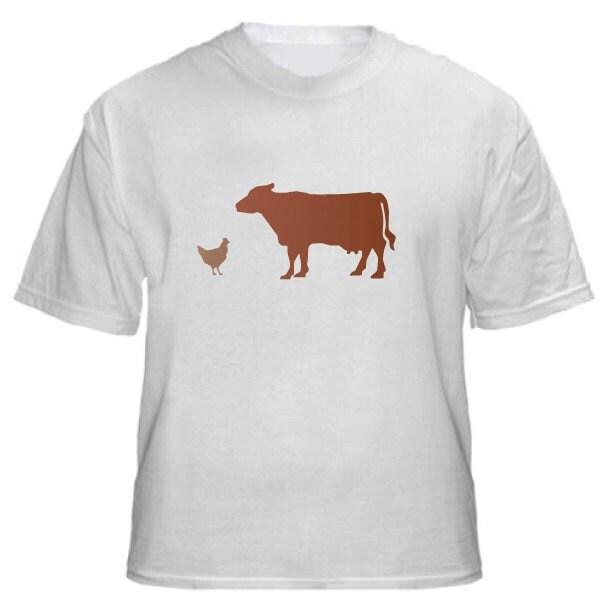 Chicken Brown Cow