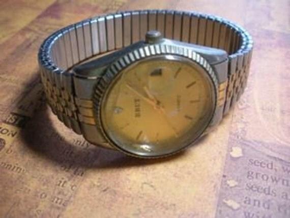 Vintage Mens Brut Watch