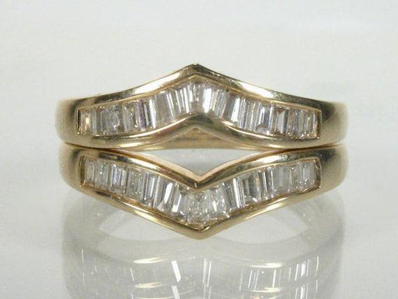 wedding ring guard set 0 60 carats by lonestarestates