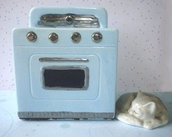 STOVE Ceramic Bank - 1987 Leadworks -  Cute