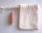 20 tiny cloth bags