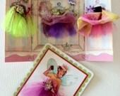 ButterCup Fairy Dress Up Card