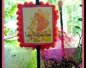 Miniature Fairy Garden Signs for the Garden