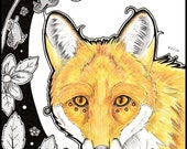 Original Art - The Golden Fox