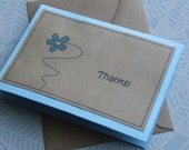 SALE - Thank you greeting card