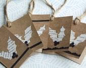 Set of 15 Assorted Ooh la la X'mas tags - SALE