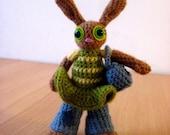 Amigurumi Doll - Jenny the Social Bunny
