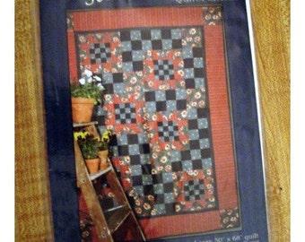 Stepping Stone Quilt PATTERN/ Craft Supplies*