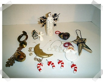 Christmas Supplies/Assorted Lot of 14 Pieces (#9)/Craft Supplies**