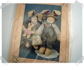 Kyle & Kate Rabbit PATTERN /13 inch Doll/Craft Supplies*