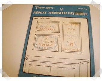 Vogart Emboidery Transfer PATTERN/Craft Supplies*