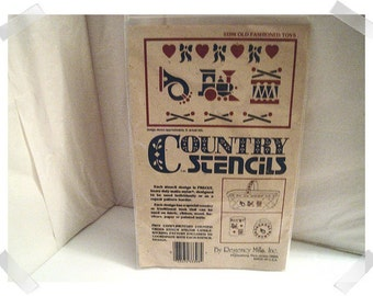 Old Fashioned Toy Stencil #33398/by Regency Mills/Craft Supplies*