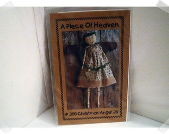Christmas Angel PATTERN /20 inches Doll/Craft Supplies*
