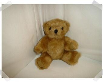 Light Brown Bear w/moveable Limbs/Trimmed Face/Craft Supplies*