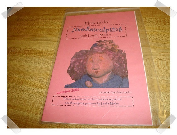 How to do Needlescrulping Booklet/FREE SHIPPING